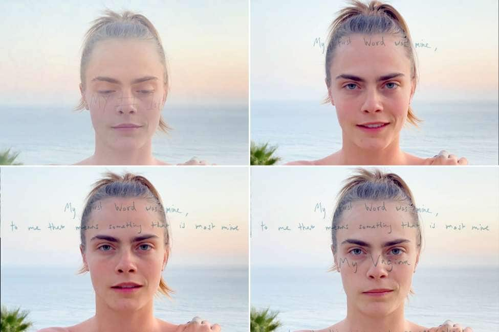 A.A.A. VENDESI VAGINA... MA SOLO IN VIDEO - CARA DELEVINGNE METTE ALL'ASTA UN NTF...