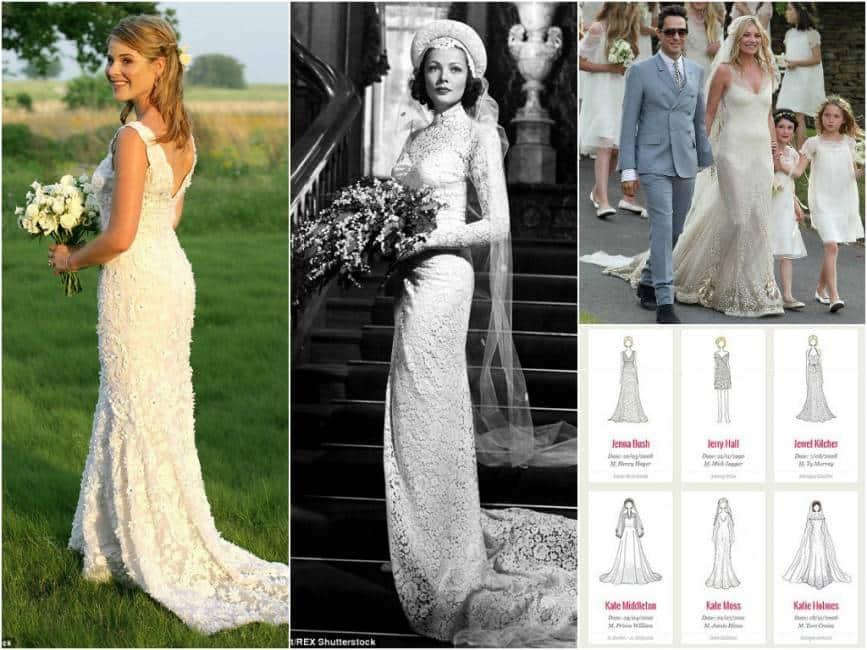 un giorno e mai piu  – i 100 abiti da sposa piu  famosi di sempre.  lasciatevi ispirare - video - Media e Tv 9e6751b94ba