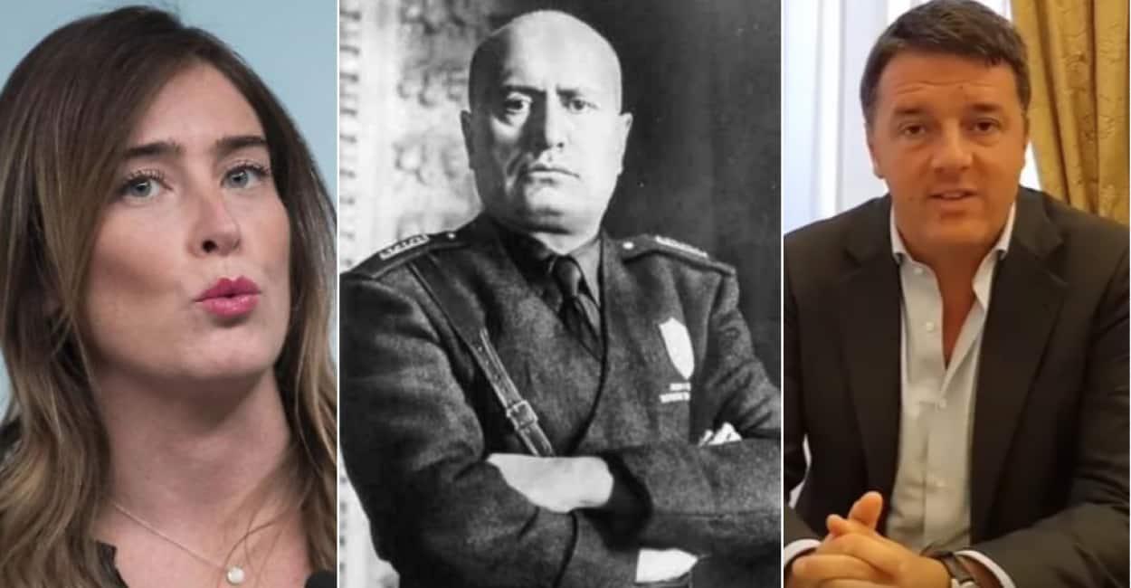 Le Frasi Di Mussolini Che Usano Anche Quelli Del Pd Quando