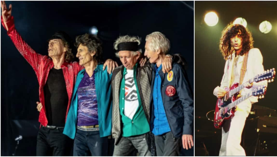 """NEL NOME DI SCARLET - INEDITO DEGLI STONES CON JIMMY PAGE, UNA """"BOMBA ROCK"""" NATA IN UNA NOTTE NEL '74..."""