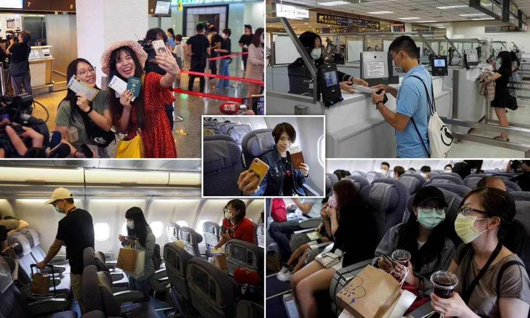 NON RIUSCITE A VOLARE PER COLPA DEL VIRUS? POTETE COMPRARVI UN BIGLIETTO FINTO! – L'IDEA LANCIATA DA UN AEROPORTO DI TAIWAN PER CHI HA NOSTALGIA DEI VIAGGI:...