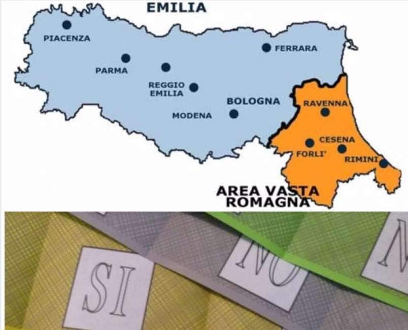 Cartina Emilia Romagna E Lombardia.Romagnexit Alla Lega E Venuta La Fregola Del Referendum Staccare La Romagna Dall Emilia Dagospia