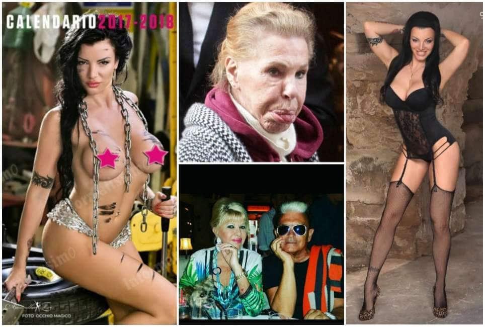 Calendario Pornostar.Sassone Gossip La Pornostar Amandha Fox Desnuda Per Il