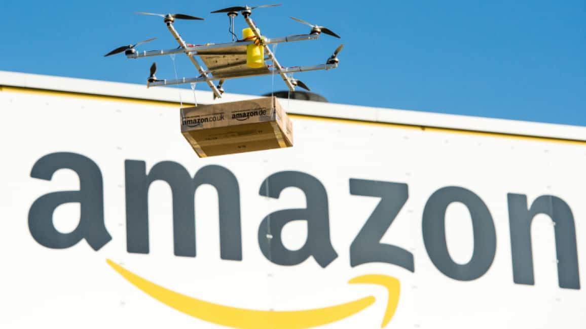 UN PACCO DA PRENDERE AL VOLO – AMAZON HA INTASCATO L'APPROVAZIONE DELLA FAA PER POTER CONSEGNARE I PACCHI CON I DRONI:...