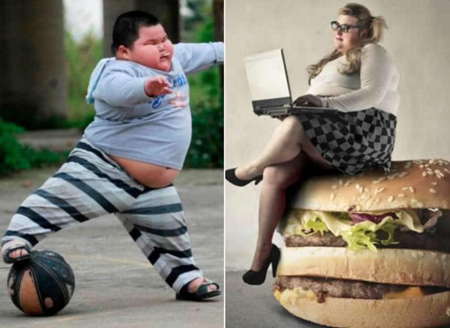 persone obese e in sovrappeso