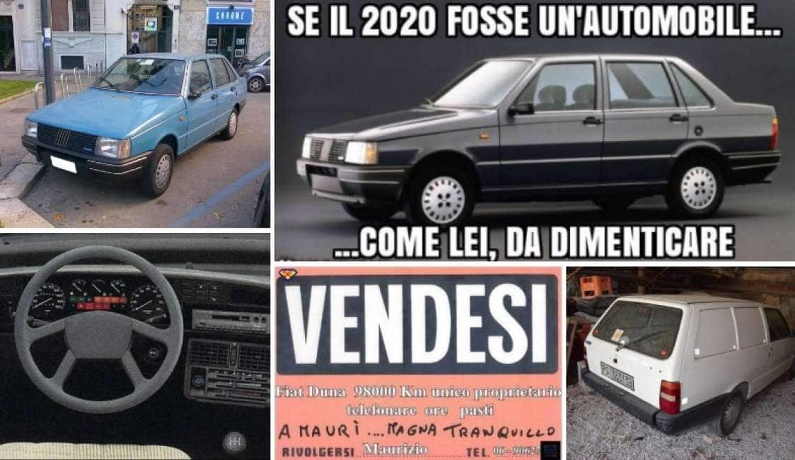 NON VOGLIO MICA LA DUNA – DALLA BIANCHINA DI FANTOZZI FINO ALLA SIMCA 1000 PASSANDO PER LA PRINZ:...