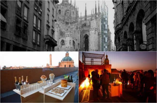Terrazza Bar Con Ascensore Sul Duomo Aperitivi Esclusivi