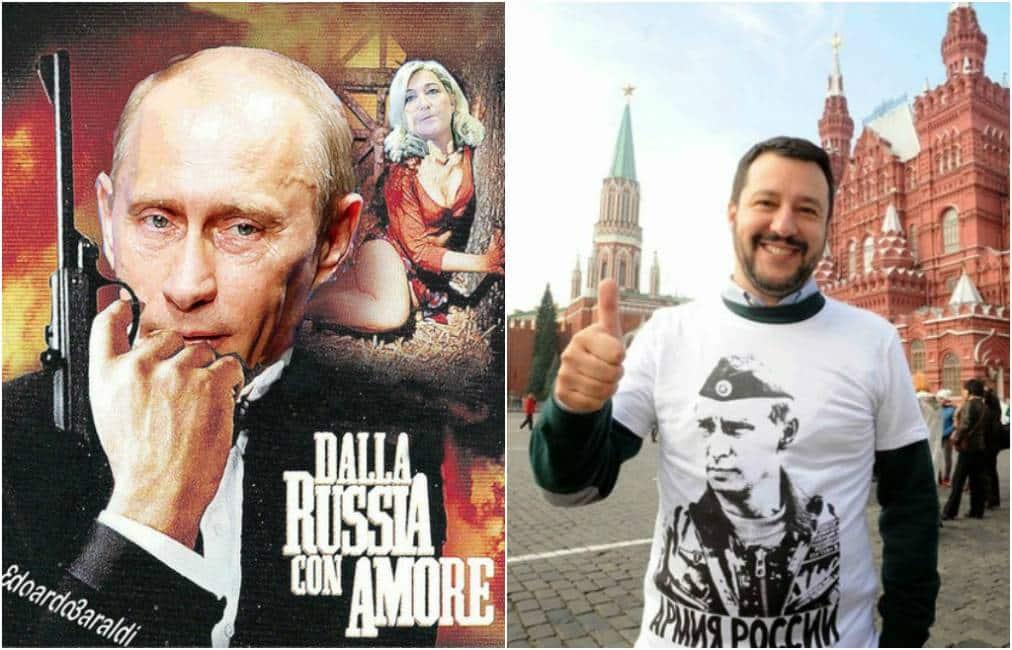 Pro e contro risalente Vladimir Putin