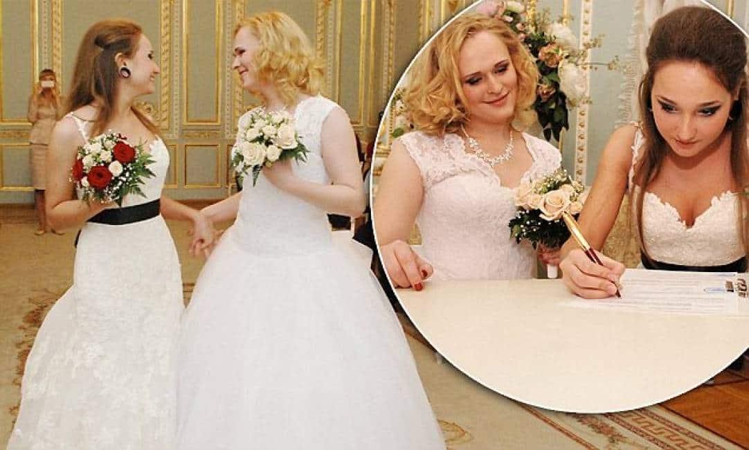 Matrimonio In Russia : Il primo matrimonio gay in russia
