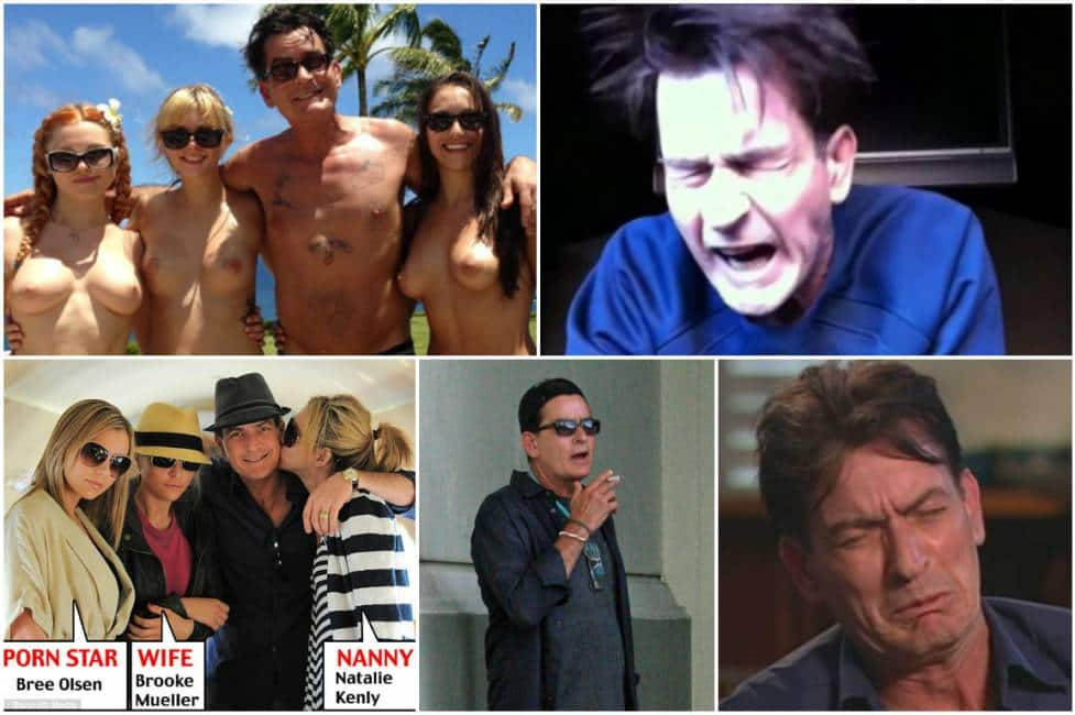 Charlie Sheen sesso gay