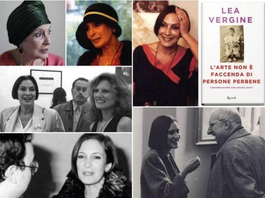 la vita della critica lea vergine nell'autobiografia 'l'arte non e' una  faccenda di persone perbene' - Dagospia