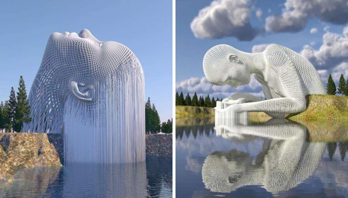chad knight È un digital artist che crea sculture 3d che sembrano quasi  reali - Dagospia