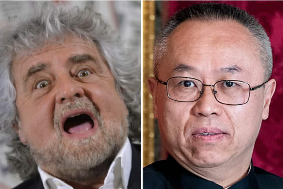 beppe grillo e' rimasto nell'ambasciata cinese per due ore e mezza: cosa doveva dire? - Dagospia