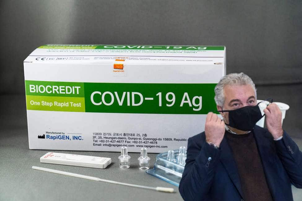 QUEL FENOMENO DI ARCURI NE HA COMBINATA UN'ALTRA: HA SPESO 32 MILIONI DI EURO PER TAMPONI RAPIDI CHE NON FUNZIONANO!...