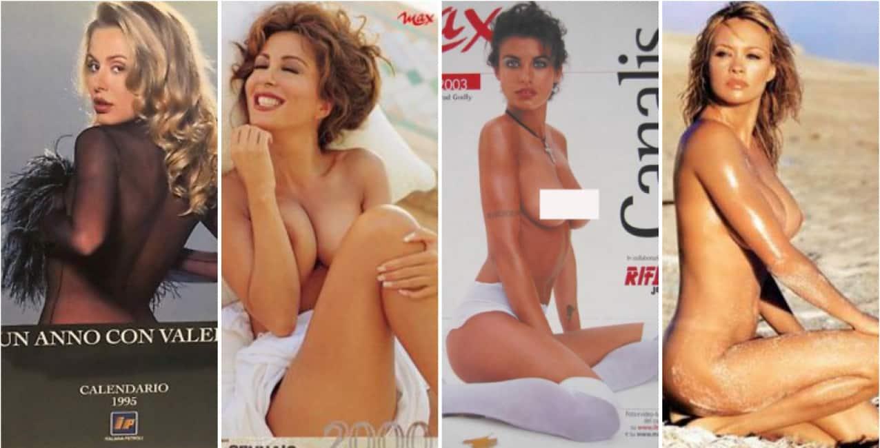 Nuda Calendario.Una Gnocca Al Giorno Marilyn Inauguro I Calendari Con