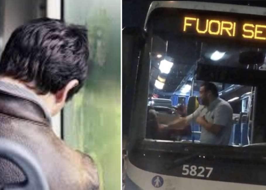 NON SVEGLIARE IL PASSEGGER CHE DORME – A ROMA L'AUTISTA DI UN BUS ARRIVA AL CAPOLINEA,...