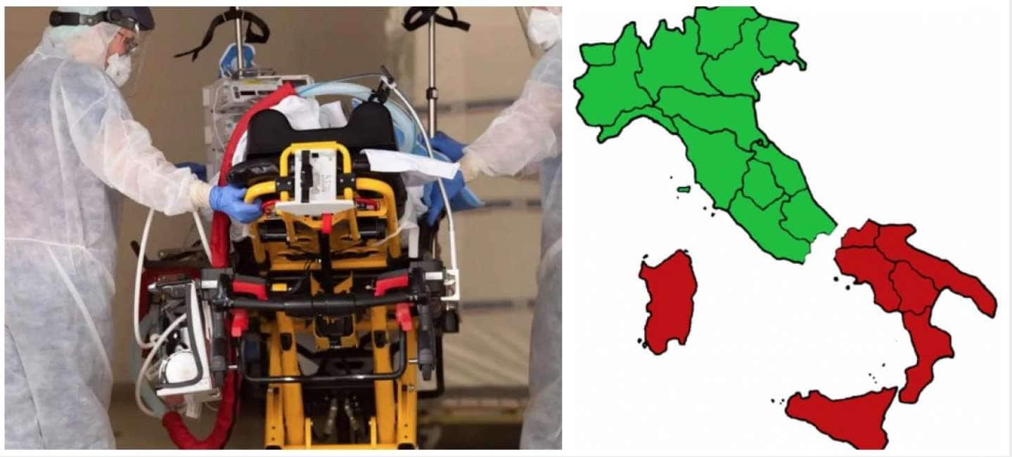 IL VIRUS NON E' BENVENUTO AL SUD - COME MAI IL COVID HA FATTO MOLTI PIÙ MORTI NEL NORD ITALIA RISPETTO AL MERIDIONE?...